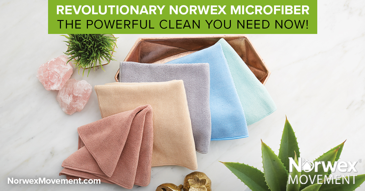 Revolutionary Norwex Microfiber–The Powerful Clean You Need Now!